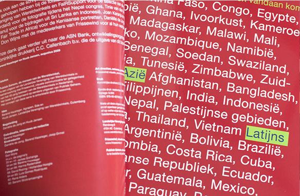 Wereldwinkel, 40 portretten, wereldproducties
