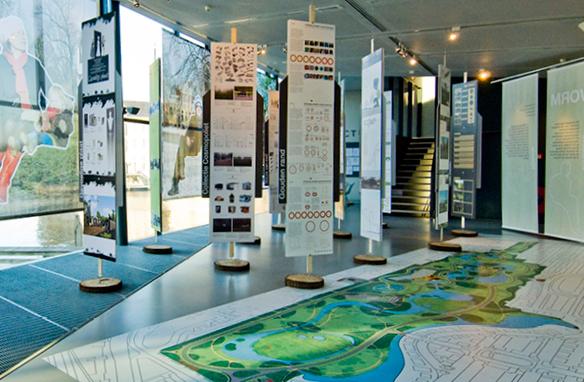 Vondelpark,de genomineerden tentoongesteld